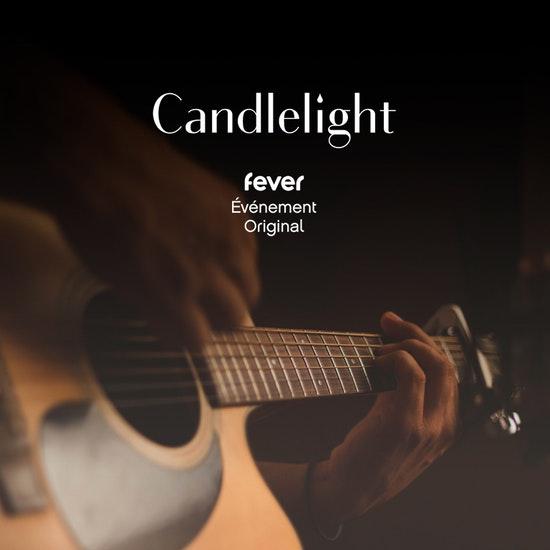 Candlelight Open Air : Guitare espagnole, Paco De Lucia à la bougie