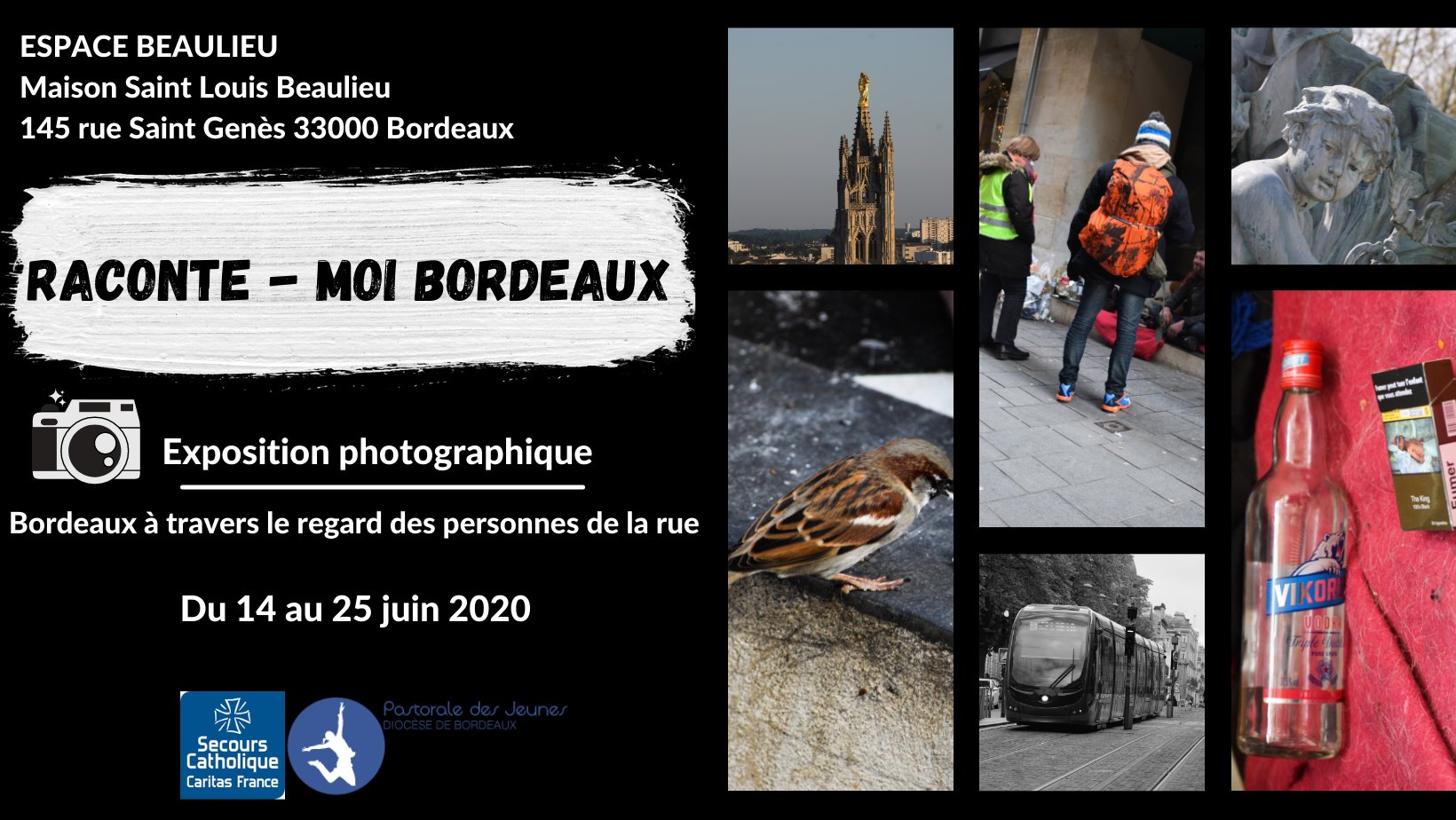 """Expo photo """"Raconte-moi Bordeaux"""" – 14-25/06/21"""