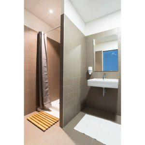 salle de bain dans chambre d'hôtel dans le centre ville dans Bordeaux