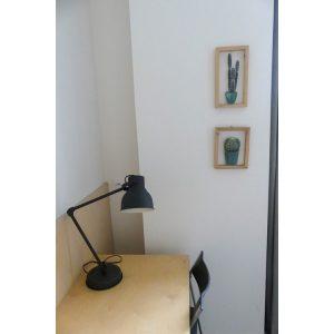 Bureau dans chambre d'hôtel twin dans Bordeaux