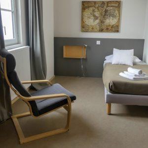 Chambre d'hôtel simple dans le centre ville deBordeaux