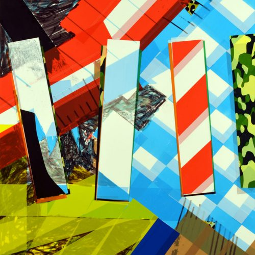 collage-artistique-de-l-artiste-laurent-valera-à-base-de-ruban-adhésif-coloré