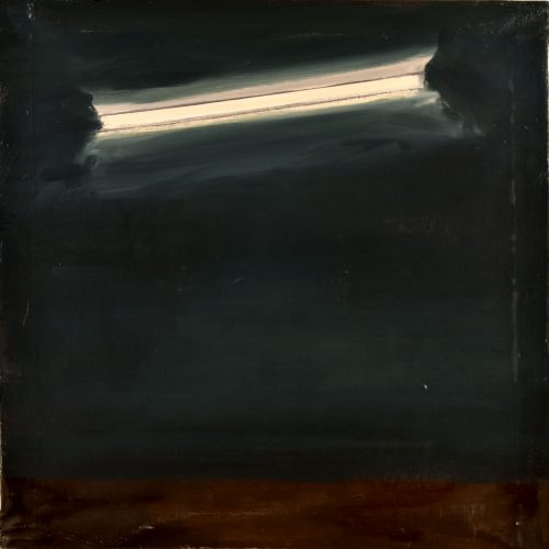 Axel INGE - Lampe néon huile 50x50