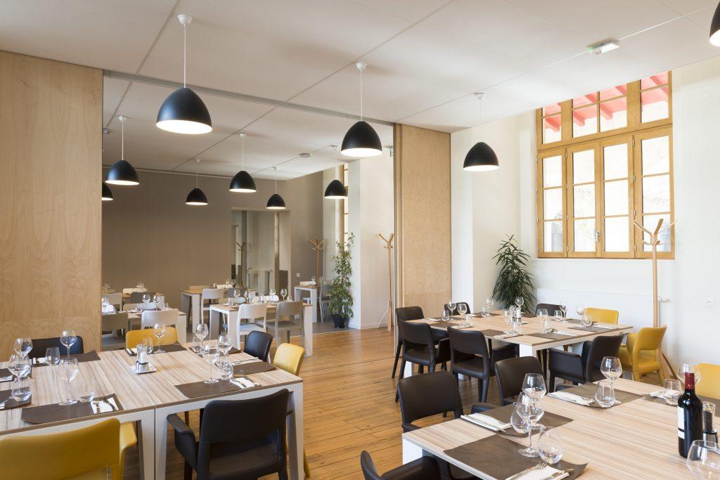 Restaurant LE Beau Lieu Bordeaux, salle à manger