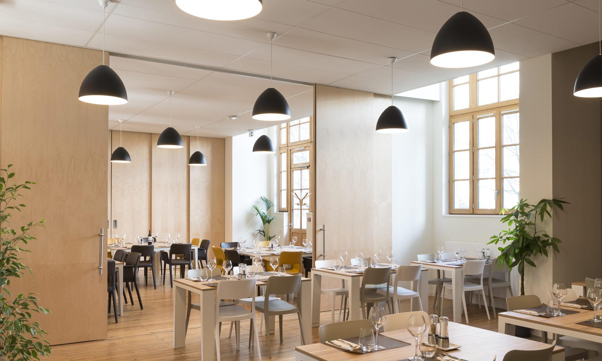 Le restaurant Le Beau Lieu à Bordeaux dévoile ses salles à manger